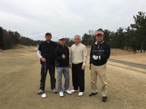 大学OB対抗ゴルフ大会 平成31年3月23日(土)