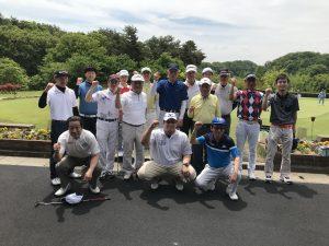 5月18日 近畿大学校友会富山県支部ゴルフ大会に参加